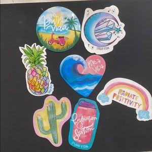 7 pura vida stickers